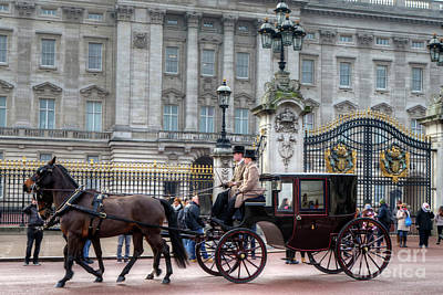 Photograph - Palace Carriage  by Rick Mann