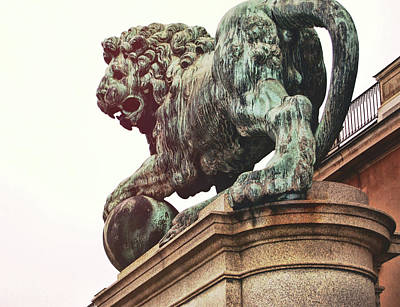 Photograph - Palace Lion by JAMART Photography