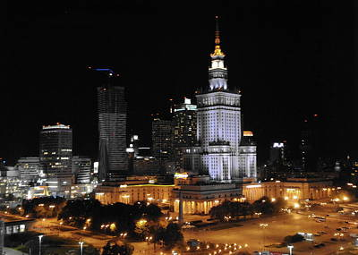Photograph - Palace Of Culture Warsaw by Jacqueline M Lewis