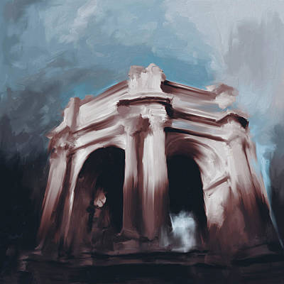 U.s History Painting - Palace Of Fine Arts 522 2 by Mawra Tahreem