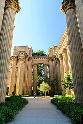 Photograph - Palace Of Fine Arts Entrance by Jason Chu