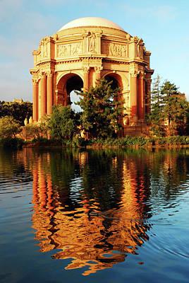 Photograph - Palace Of Fine Arts, San Francisco by James Kirkikis