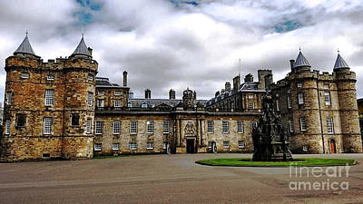 Photograph - Palace Of Holyroodhouse  by Judy Palkimas