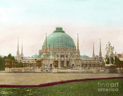 Photograph - Palace Of Horticulture, Panama Pacific International Exposition 1915 by California Views Mr Pat Hathaway Archives