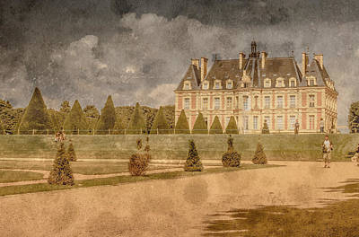 Photograph - Sceaux, France - Palace Of Sceaux II by Mark Forte