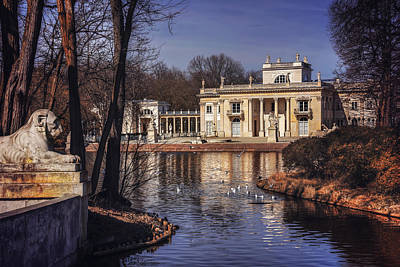 Neoclassical Photograph - Palace On The Water  by Carol Japp