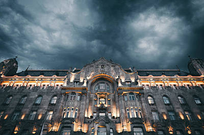 Landmark Digital Art - Palace by Super Lovely