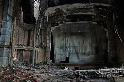Jackson 5 Photograph - Palace Theater   by Edward Crestoni