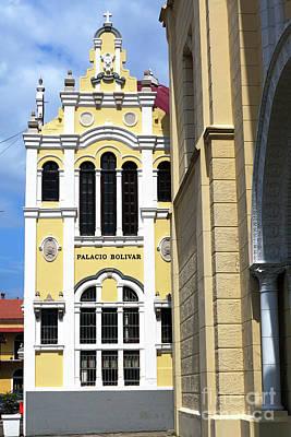 Photograph - Palacio Bolivar by John Rizzuto