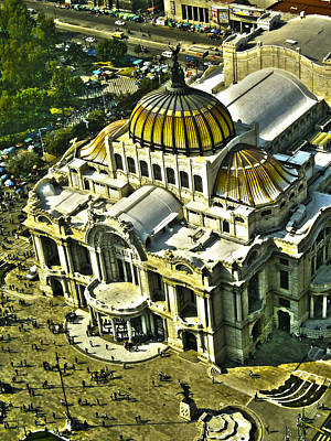 Mexicano Photograph - Palacio De Bellas Artes Hdr 1 by Totto Ponce