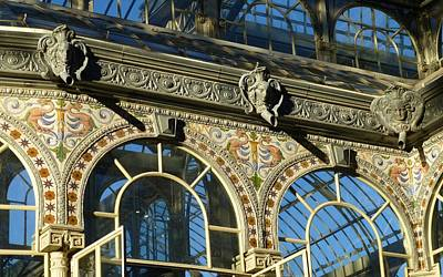 Architecture Digital Art - Palacio De Cristal by Maye Loeser