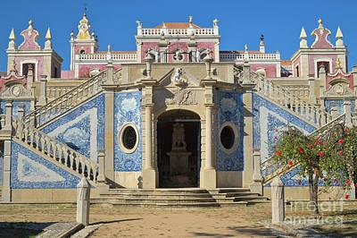Palacio De Estoi Front View Art Print