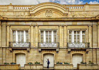 Photograph - Palacio De Narino by Maria Coulson