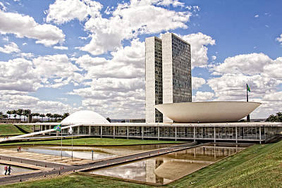 Photograph - Palacio Do Congresso Nacional by Kim Wilson