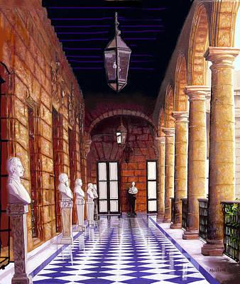 Palacio Art Print by Jose Manuel Abraham