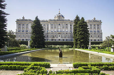 Photograph - Palacio Real De Madrid by Ross G Strachan