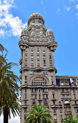 Photograph - Palacio Salvo, Montevideo, Uruguay No. 35-1 by Sandy Taylor