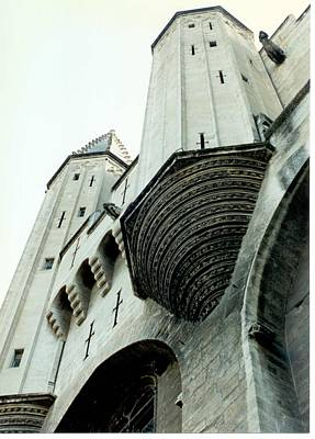 Photograph - Palais De Papes Gate by Christopher Kirby