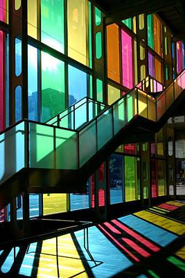Photograph - Palais Des Congres Montreal Canada by Pierre Leclerc Photography