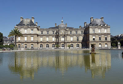 Photograph - Palais Du Luxembourg by Harvey Barrison