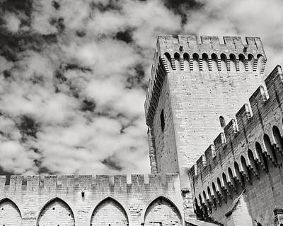 Photograph - Palais Du Papes by Allen Sheffield