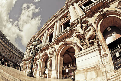 Photograph - Palais Garnier Opera In Paris by Mariana Carrillo