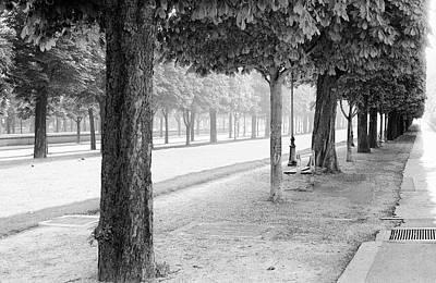 Art Print featuring the photograph Palais Park by Dave Beckerman