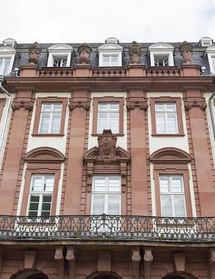 Photograph - Palais Prinz Carl Heidelberg by Teresa Mucha