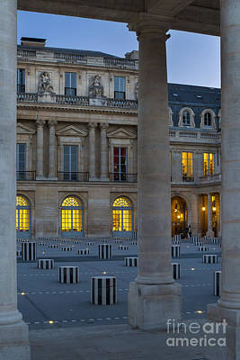 Photograph - Palais Royal Evening by Brian Jannsen