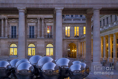 Photograph - Palais Royal Twilight by Brian Jannsen