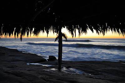 Palapas Wall Art - Photograph - Palapa Sunset by Kelly Wade