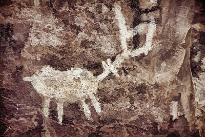 Photograph - Palatki Pictographs Des by Theo O'Connor