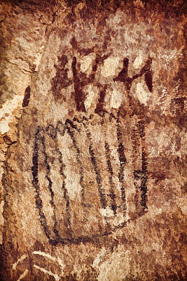 Photograph - Palatki Pictographs1 Cpg by Theo O'Connor