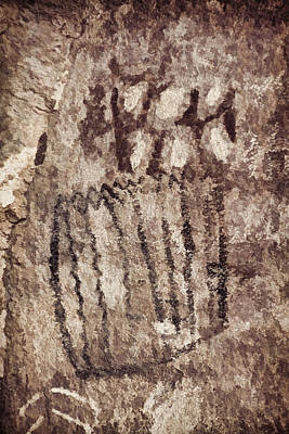 Photograph - Palatki Pictographs1 Des by Theo O'Connor