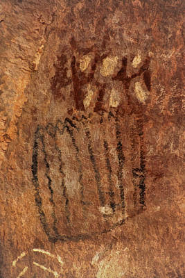 Photograph - Palatki Pictographs1 Pnt by Theo O'Connor
