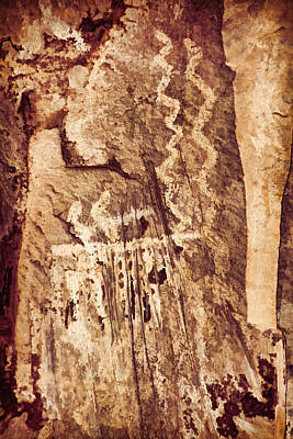 Photograph - Palatki Pictographs2 Cpg by Theo O'Connor