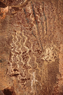 Photograph - Palatki Pictographs3 Txt by Theo O'Connor
