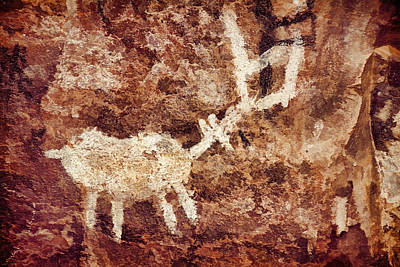 Photograph - Palatki Pictographs5 Cpg by Theo O'Connor