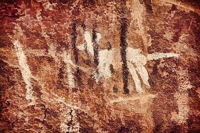 Photograph - Palatki Pictographs6 Cpg by Theo O'Connor