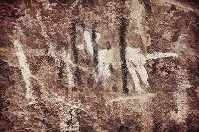 Photograph - Palatki Pictographs6 Des by Theo O'Connor