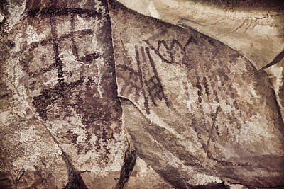 Photograph - Palatki Pictographs7 Des by Theo O'Connor