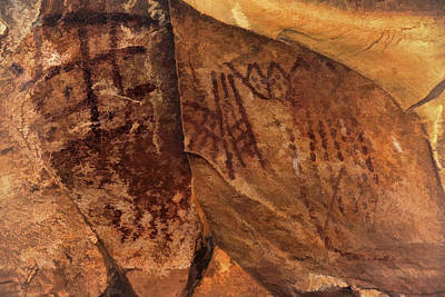 Photograph - Palatki Pictographs7 Pnt by Theo O'Connor