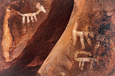 Photograph - Palatki Pictographs9 Pnt by Theo O'Connor