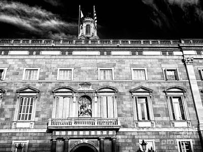 Photograph - Palau De La Generalitat by John Rizzuto