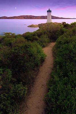 Photograph - Palau Lighthouse by Giovanni Allievi