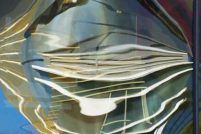 Palazo Hotel Reflection Art Print by Richard Henne