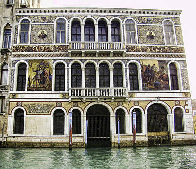 Palazzo Barbarigo Art Print