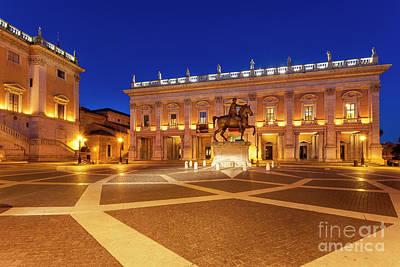 Photograph - Palazzo Dei Conservatori - Rome by Brian Jannsen
