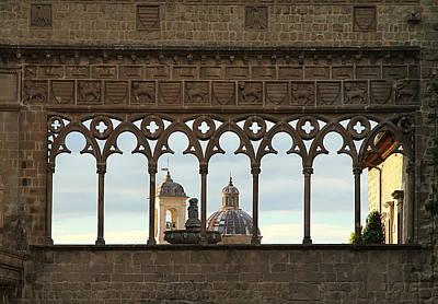 Photograph - Palazzo Dei Papi by Valentino Visentini