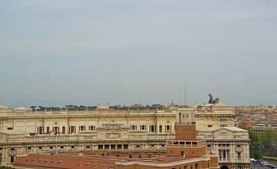 Palazzo Di Giustizia Art Print by JAMART Photography